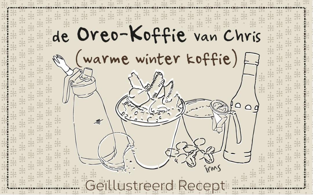 Deze Oreo koffie is een echte winter verwen koffie!
