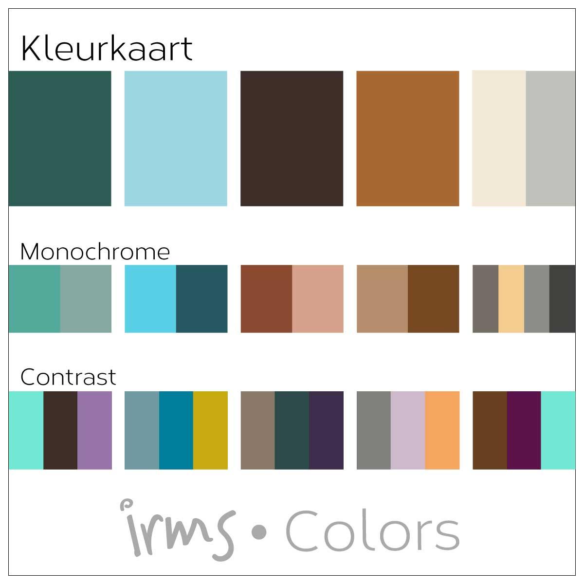 unieke-kleurkaart