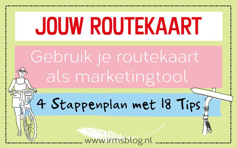 Routekaart maken als marketingtool, in 4 stappen