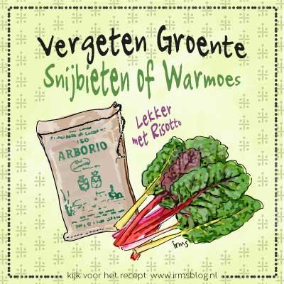 vergeten groenten snijbieten of warmoes
