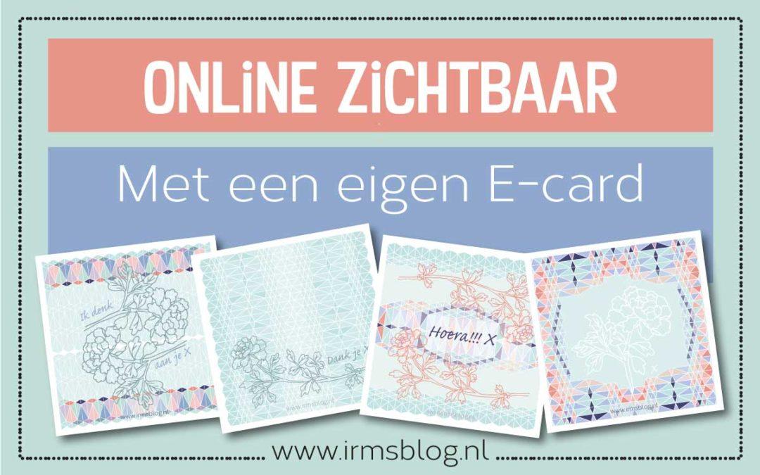 Maak jezelf beter online zichtbaar met een eigen e-card.