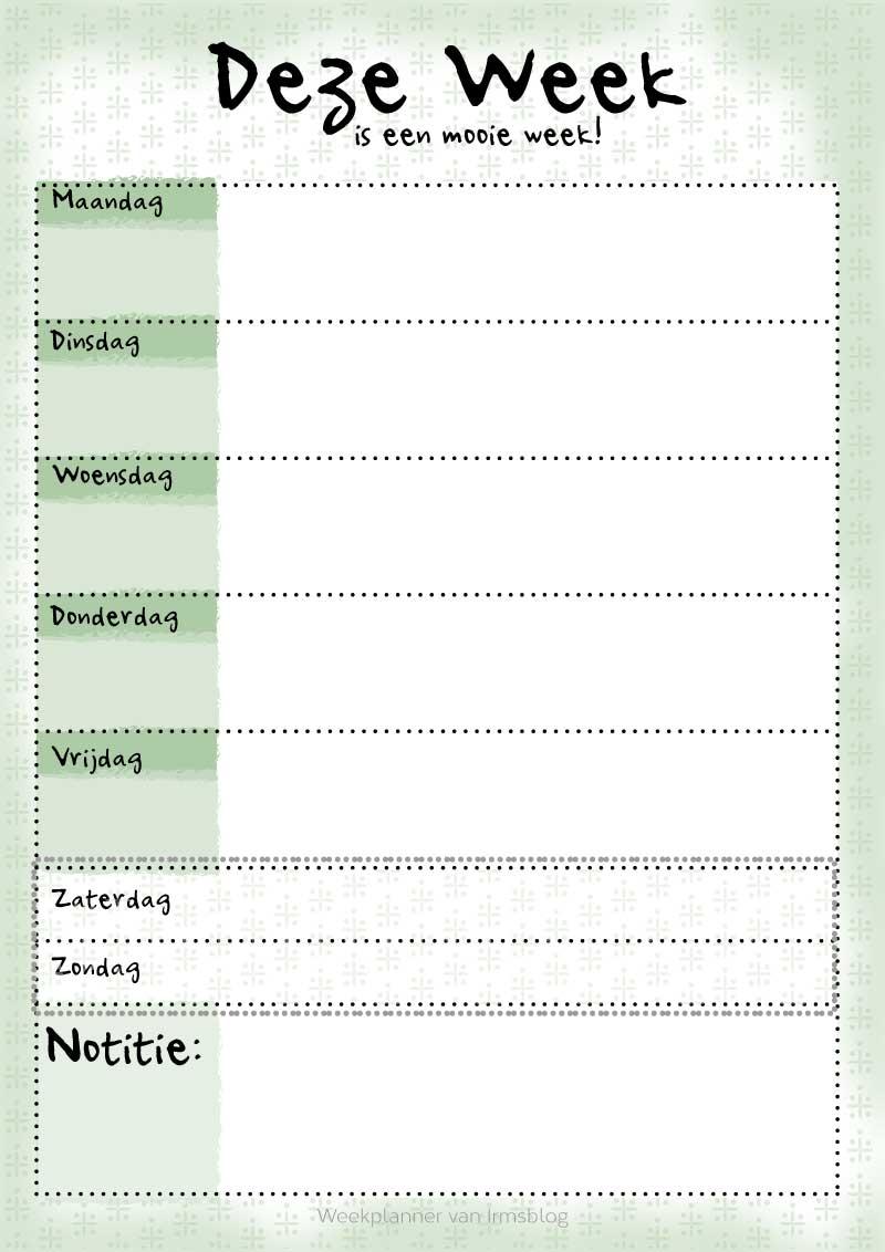 weekplanner-irmsblog