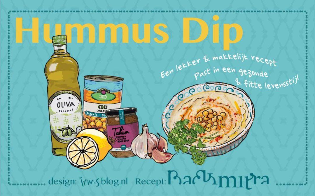 Hummus dip zo lekker en makkelijk te maken