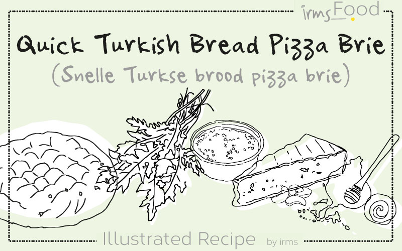 Snelle Turkse brood pizza