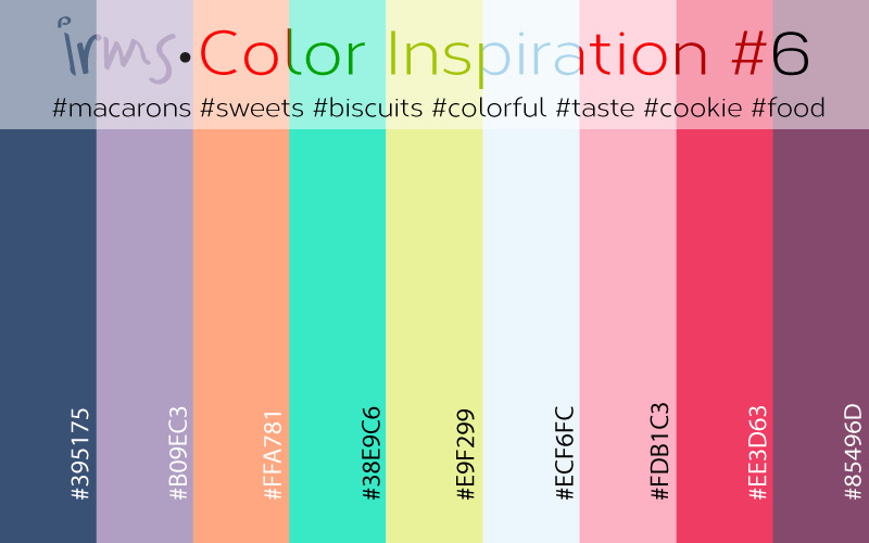 colorinspiration#6-Macarons