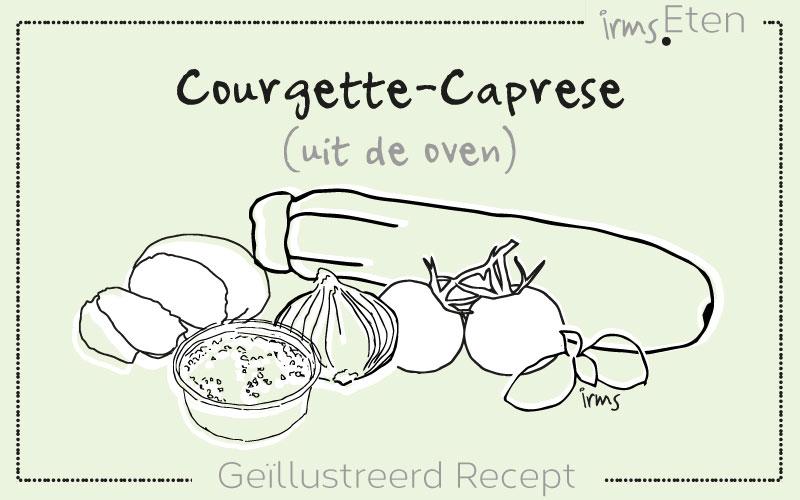 Courgette-Caprese