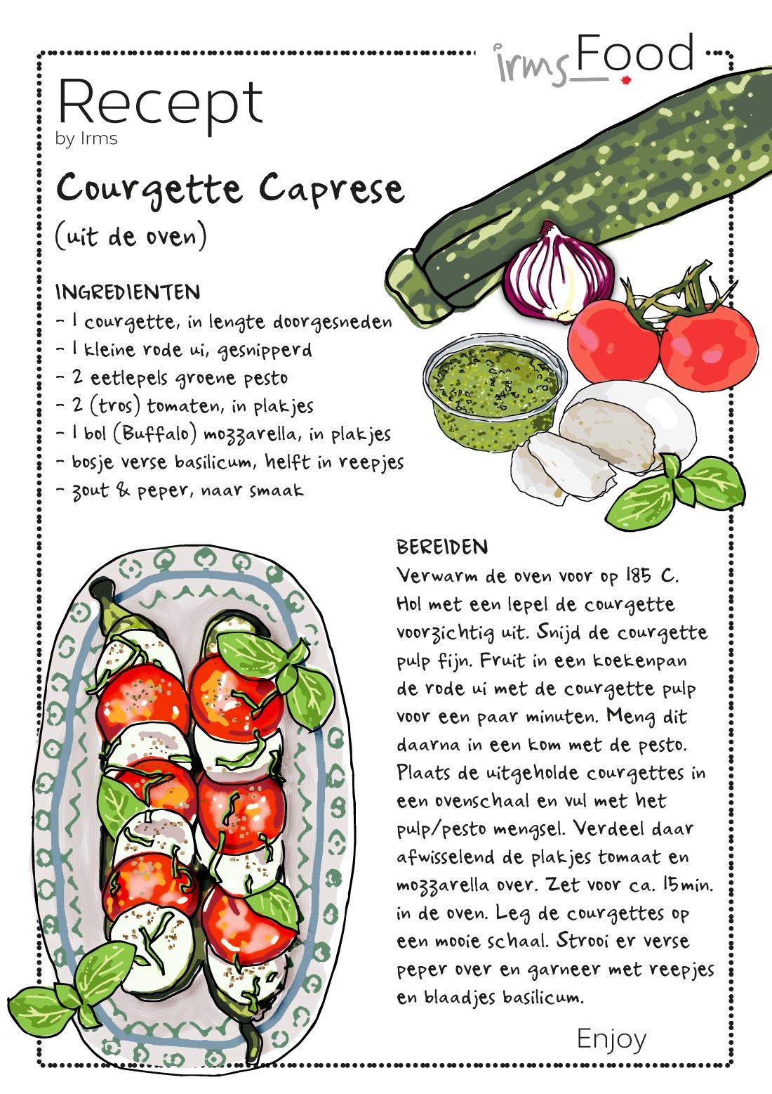 courgette-caprese-geillustreerd-recept