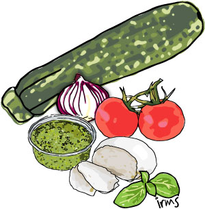 illustratie-courgette-caprese