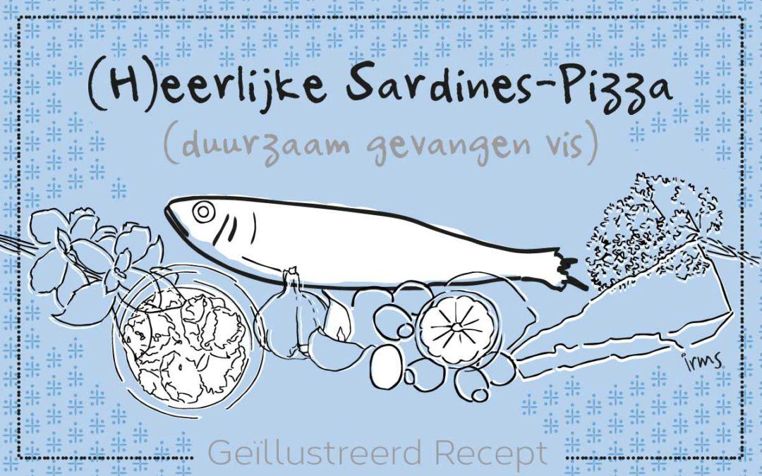 (H)eerlijke Sardines pizza