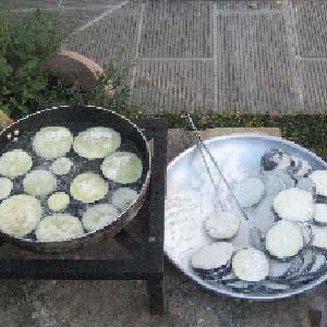 aubergines-bakken