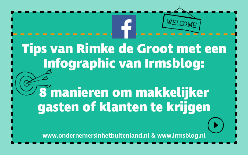 Facebook tips Rimke de Groot met infographic Irmsblog