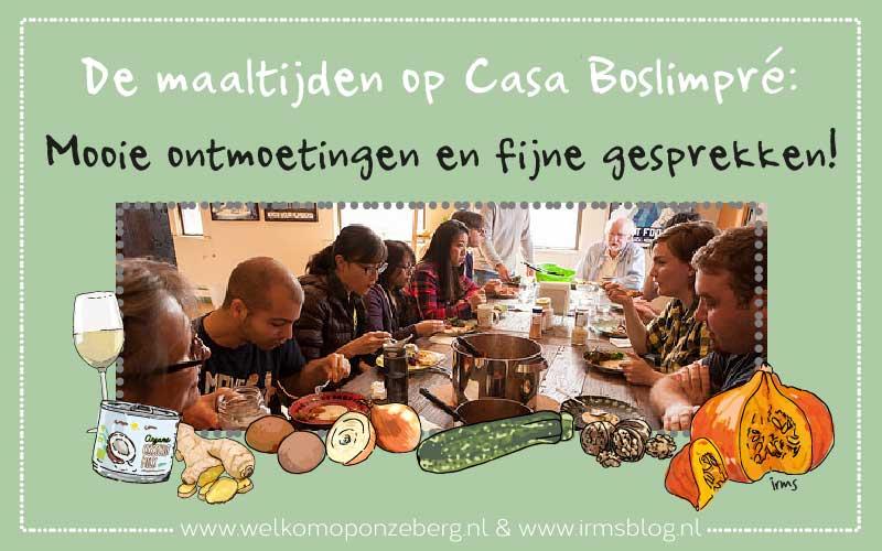 Recepten en maaltijden van Casa Boslimpré