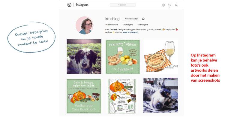 recepten delen instagram