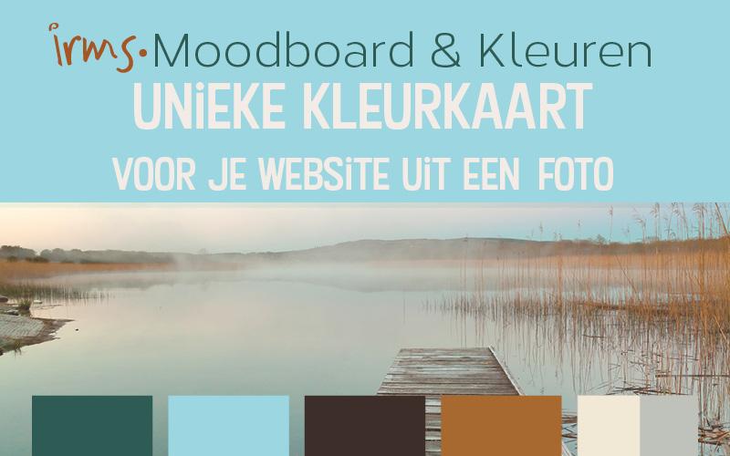 Unieke kleurkaart voor je website uit een foto.