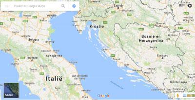 google-maps-kroatie
