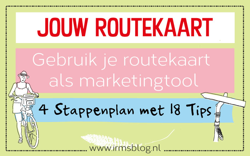 Routekaart maken als marketingtool, in 4 stappen