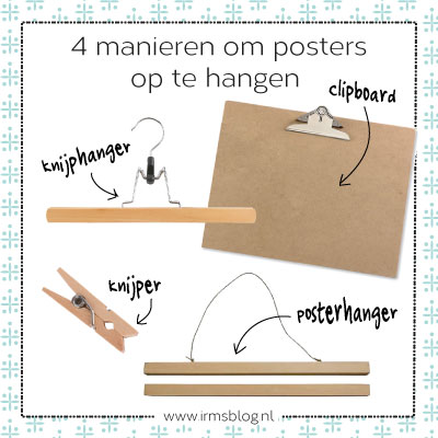 poster-ophangen-4-manieren