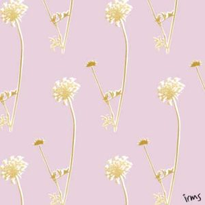 eigen patroon flower-gold irms