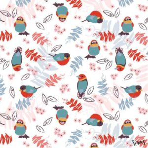 eigen patroon vogeltjes irms
