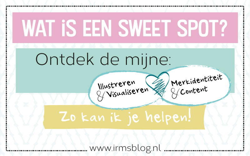 Sweet spot: visualiseren voor ondernemers