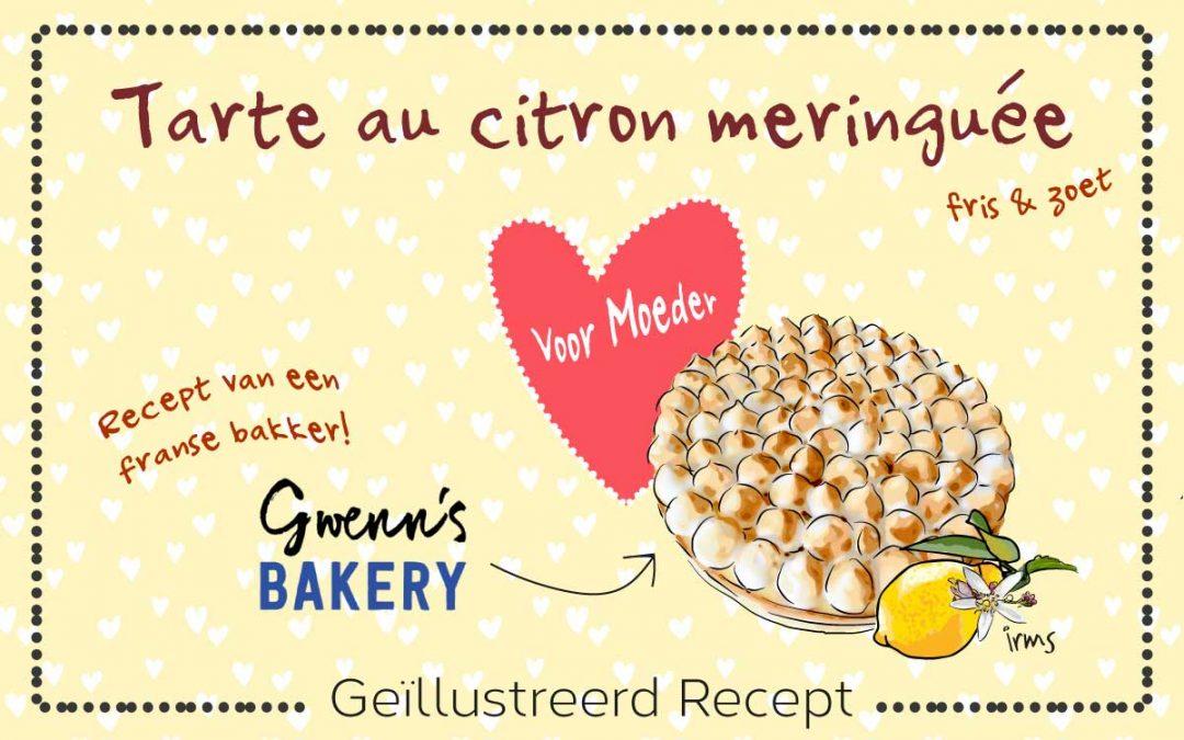 Citroen meringue taart voor Moederdag van Gwenn's Bakery