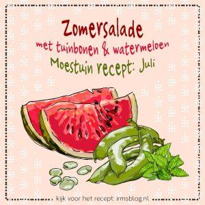 zomersalade-tuinbonen-watermeloen