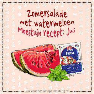 zomersalade-watermeloen