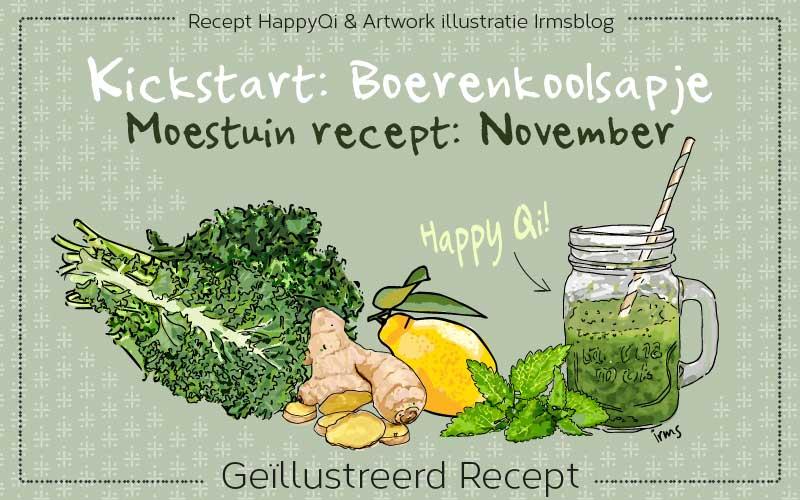 Kickstart: Boerenkoolsapje het moestuin recept van november