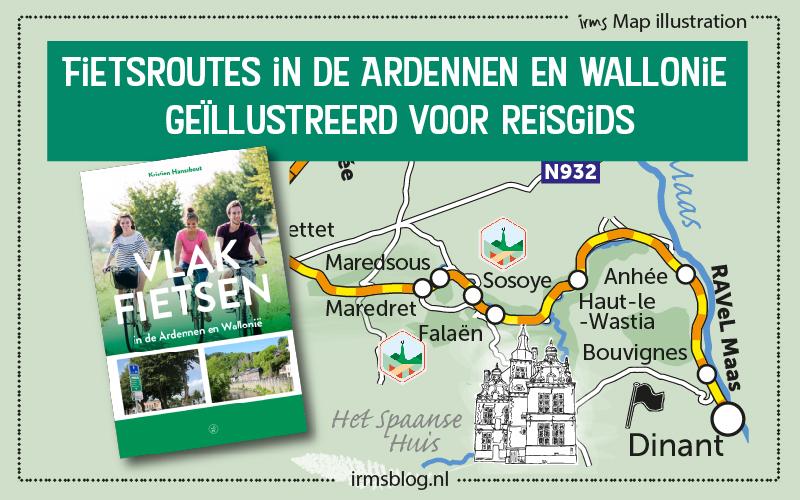 Fietsroutes in de Ardennen en Wallonië in reisgids.