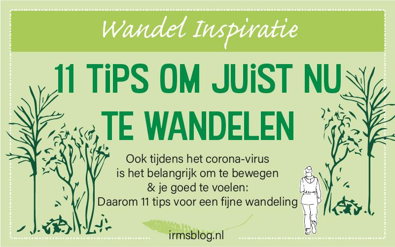 11 Tips om te wandelen tijdens het corona-virus